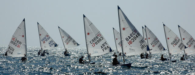 Laser Radial Youth Worlds 2006, California
